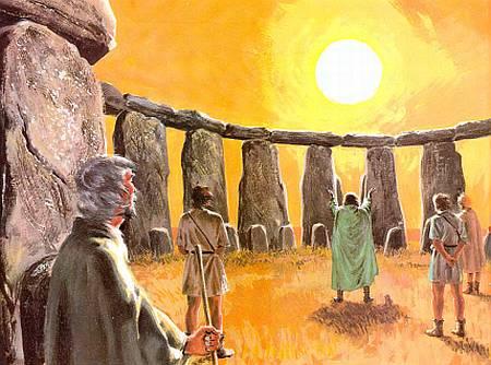 поклонение солнцу